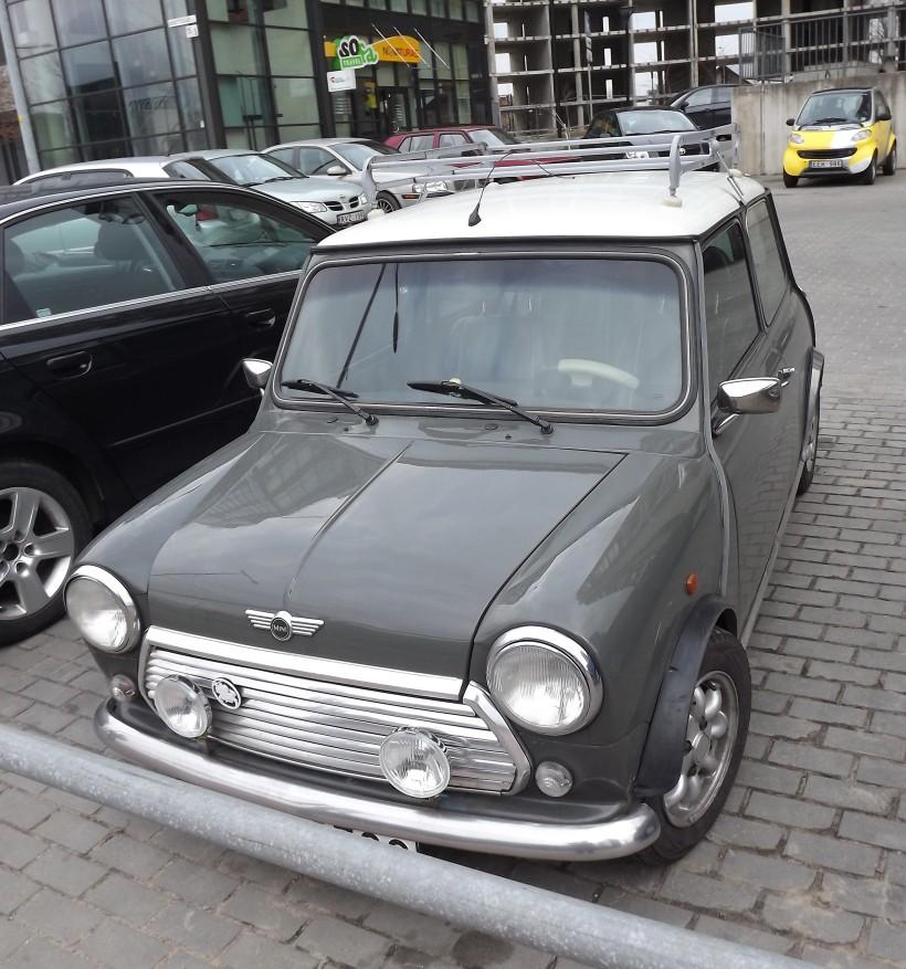 Austin mini car